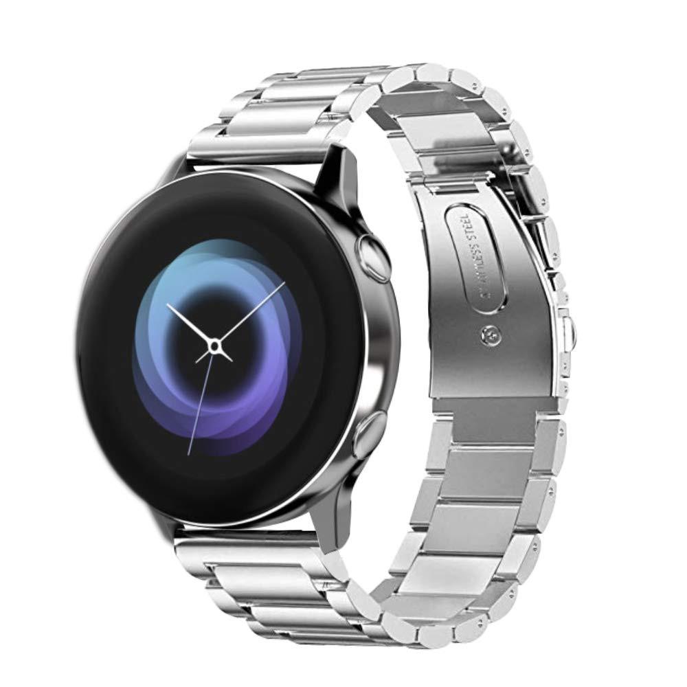Стальной ремешок 20мм  BeWatch для Samsung Galaxy Watch Active | Active 2 40мм Silver (1110405)