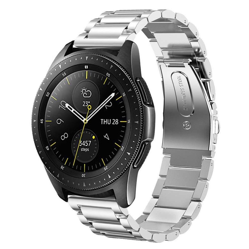 Ремешок стальной 22мм BeWatch Classic для Samsung Gear S3 | Watch 46 Серебристый (1020405)
