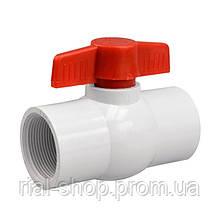 Кран шаровый Presto-PS 25 мм с внутренней резьбой 1 дюйм (PF-0132)