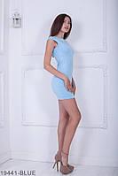 Жіноче плаття Подіум Amira 19441-BLUE XS Голубий