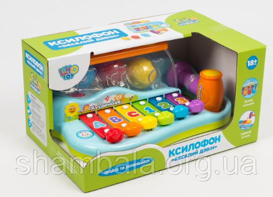 "Ксилофон Limo Toy ""Веселый звон""  (071985)"