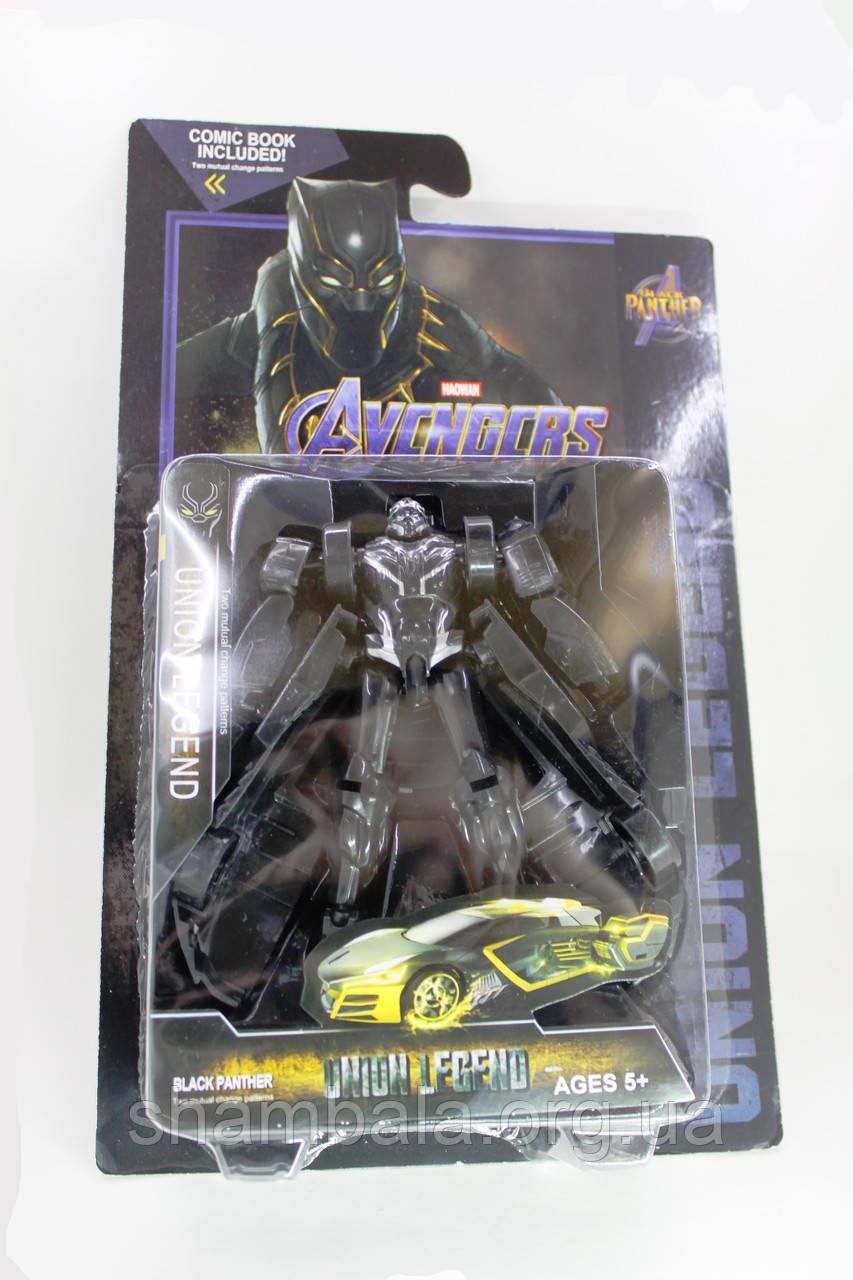 """Трансформер Black Panter """"Мстители"""" (070025)"""