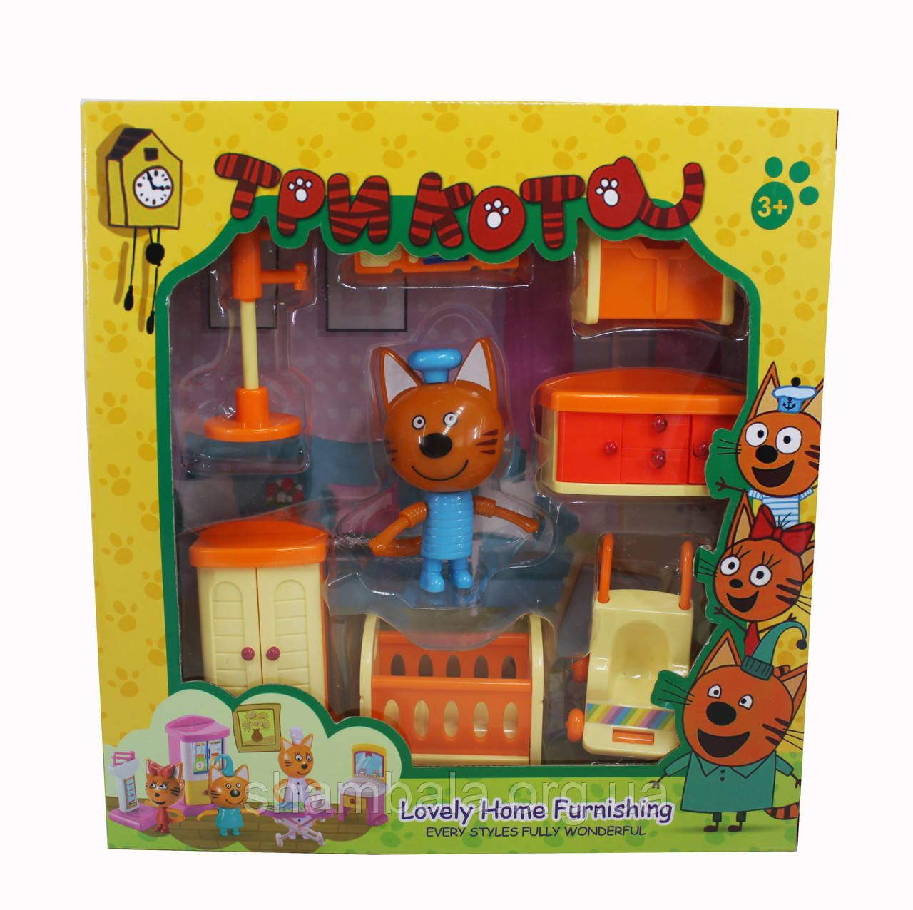 "Игровой набор A-Toys ""Три кота Lovely Home Furnishing - Кухня"" (074788)"