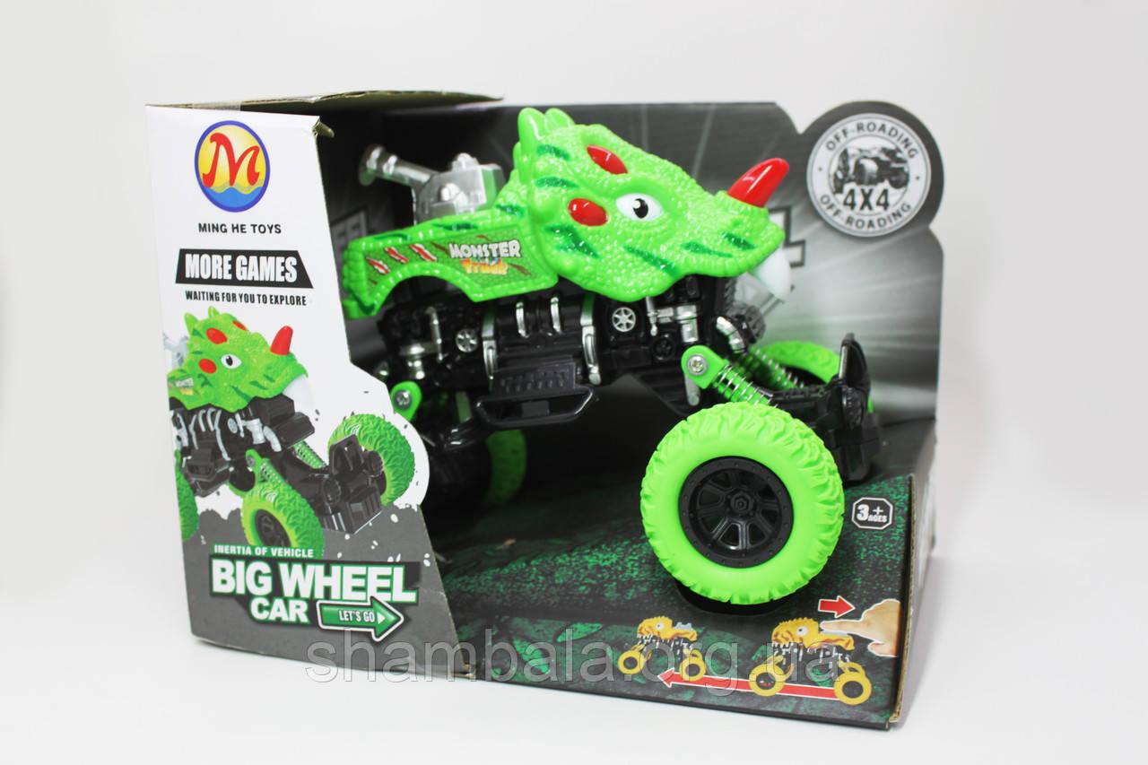 "Машина монстр Ming he toys ""More games"" зеленая (065618)"