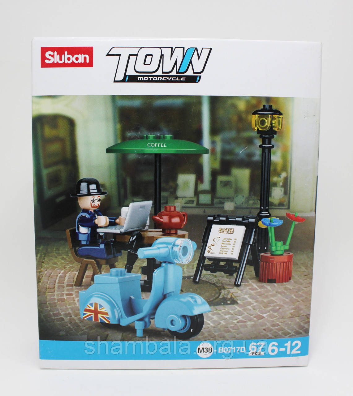 "Конструктор Sluban ""Town motorcycle"" М-38 (067216)"
