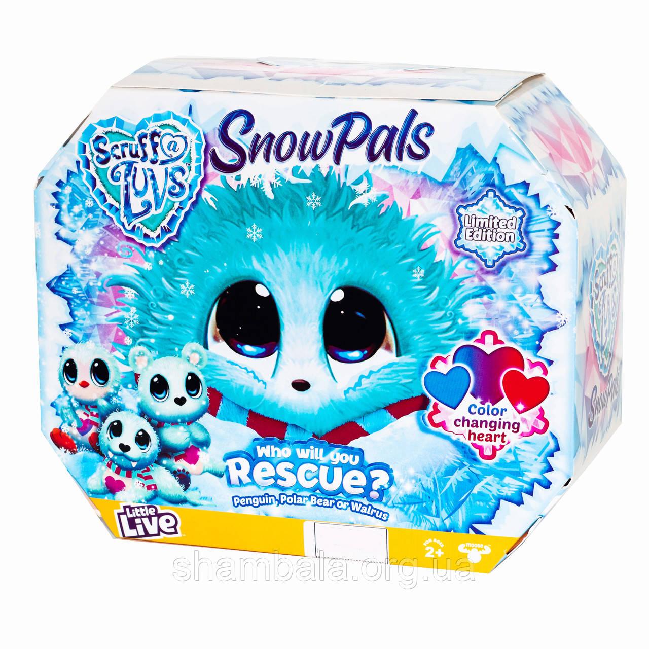 "Игрушка-сюрприз Scruff A Luvs ""Snow Pals - Потеряшка"" (072852)"