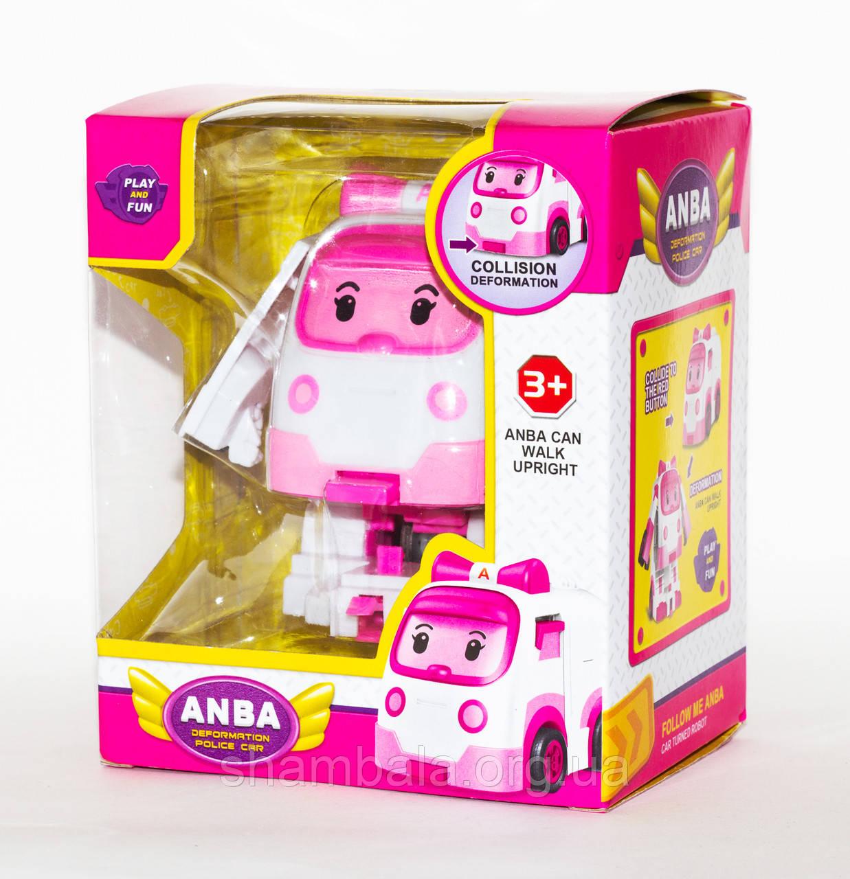 """Робот-трансформер  Play and fun """"ANBA Police car"""" мини  (064468)"""