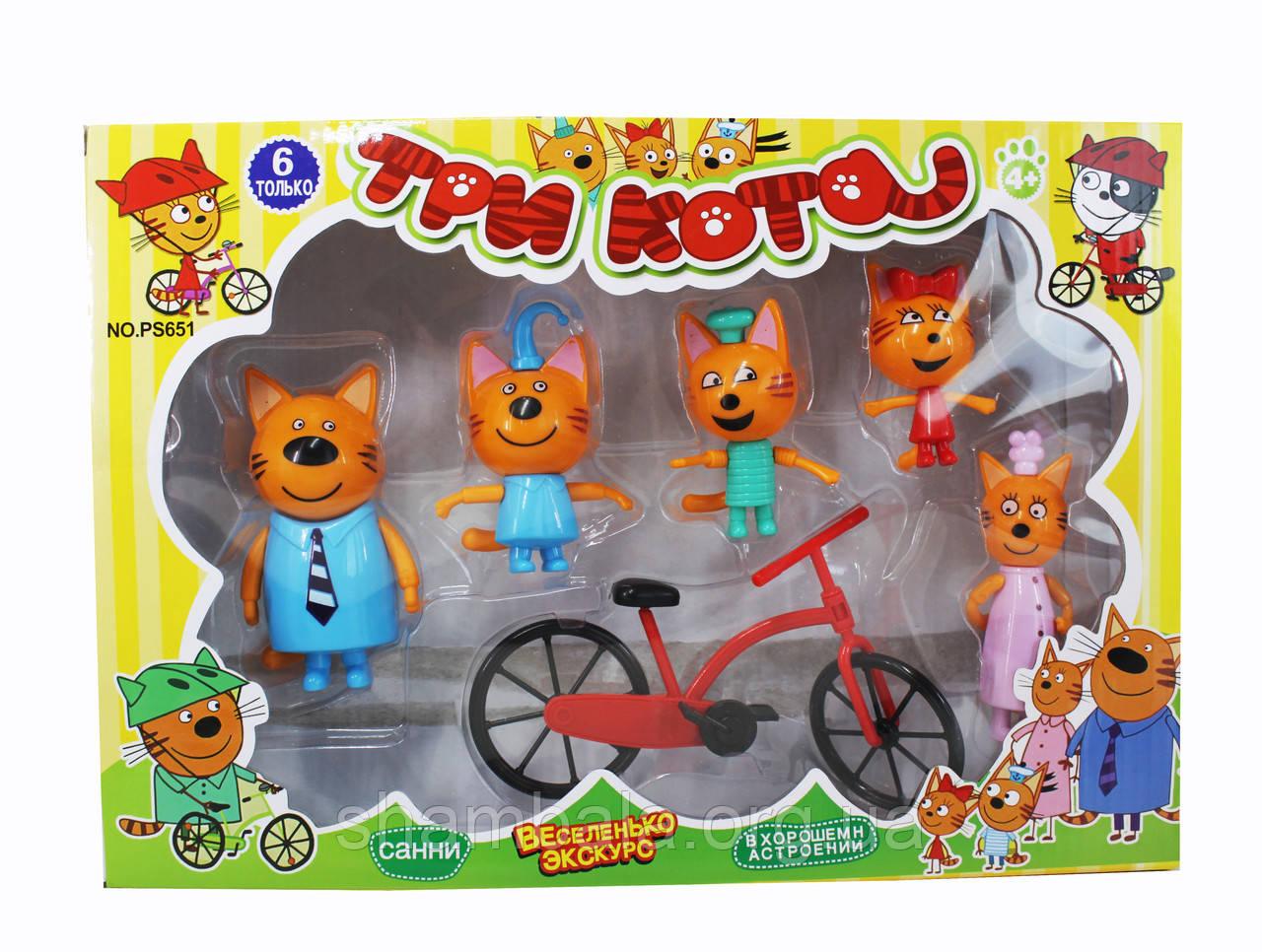 """Игровой набор A-Toys """"Три кота Веселенько Экскурс"""" (073965)"""