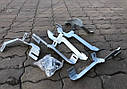 Пороги боковые (подножки профильные) Citroen Jumpy 1995-2007 короткая база, фото 3