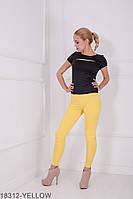 Жіночі легінси Подіум Kendall 18312-YELLOW L Жовтий
