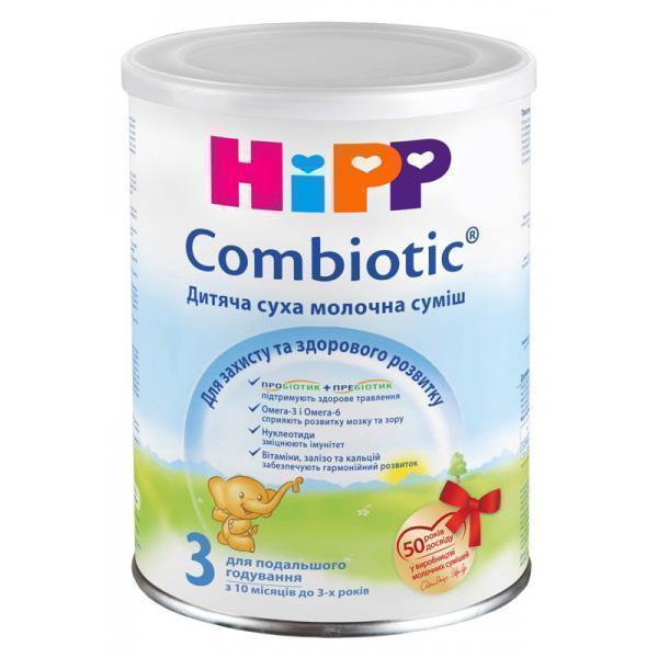 Смесь молочная Hipp 2449 Combiotiс-3 350 г