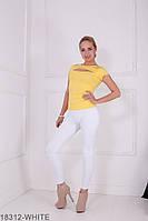 Жіночі легінси Подіум Kendall 18312-WHITE XS Білий