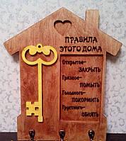 Фамільна настінна ключниця для дому.