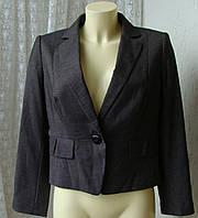 Пиджак женский офисный деловой бренд M&S р.46-48 3507