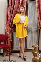 Жіночий кардиган Подіум Mirabilis 17941-YELLOW L Жовтий