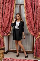 Жіночий піджак Подіум Mirabilis 17941-BLACK S Чорний