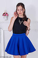 Жіноча спідниця Подіум Style 17468-BLUE XS Синій