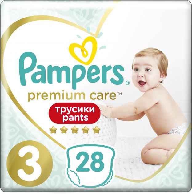 Подгузники-трусики Pampers Premium Care Pants 3 Midi (6-11 кг) №28