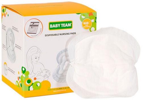 Одноразовые абсорбирующие вкладыши Baby Team в бюстгальтер №30