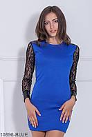 Жіноче плаття Подіум Elder 10896-BLUE S Синій