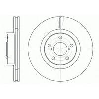 Тормозной диск передний Subaru Outback, Subaru Impreza, Subaru Legacy,пр-во ABE C37011ABE