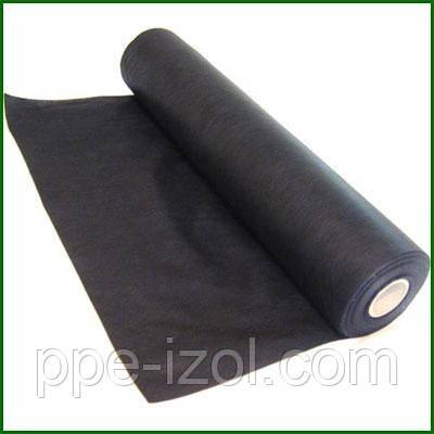 Агроволокно черное плотность 60г/м2, (1,60м * 100м), агроволокно для клубники, спанбонд