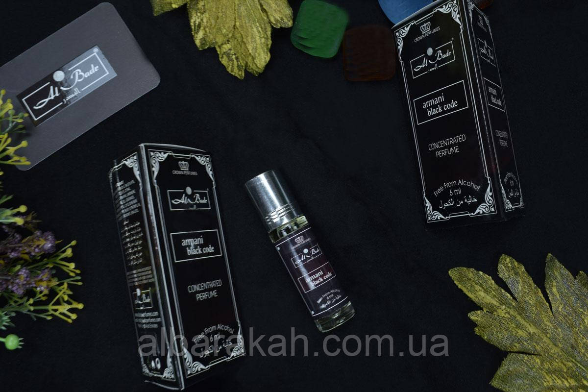 Масляные Духи Giorgio Armani Black Code 6ml (Al Badr)