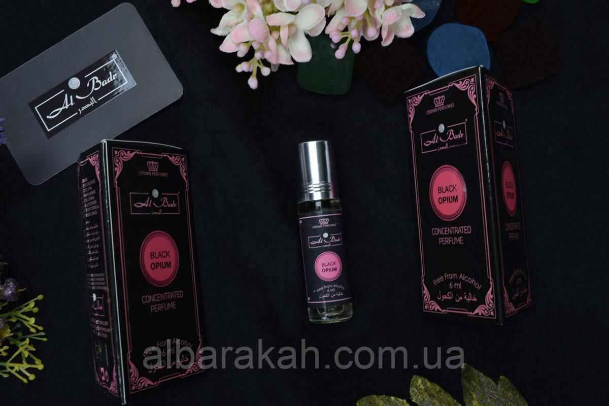 Масляные Духи Black Opium 6ml (Al Badr)