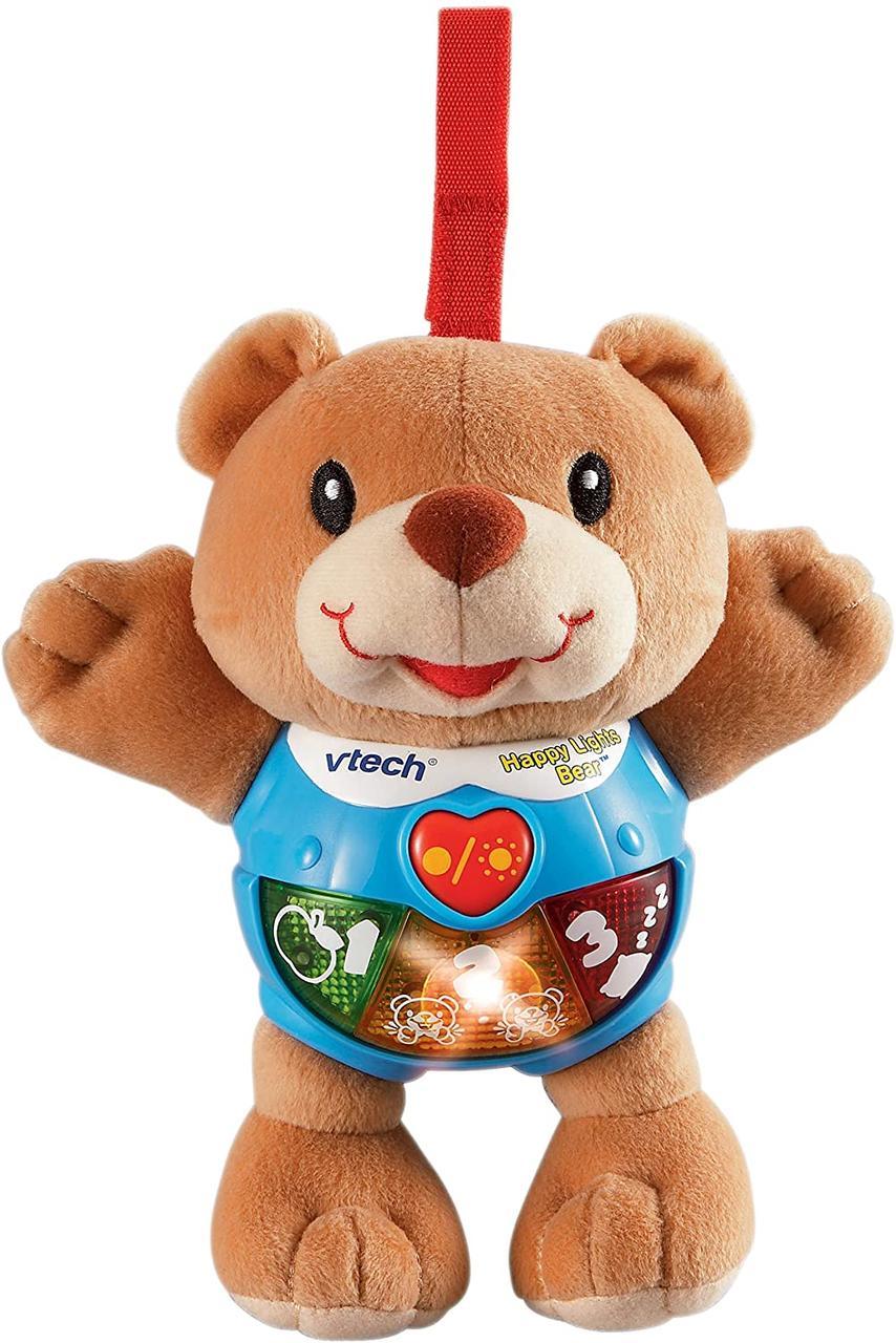 VTech музыкальный медвежонок 80-073300 Happy Lights Bear, Brown