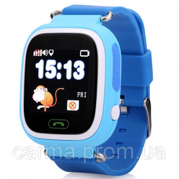 Детские наручные часы Smart Q90 Голубые