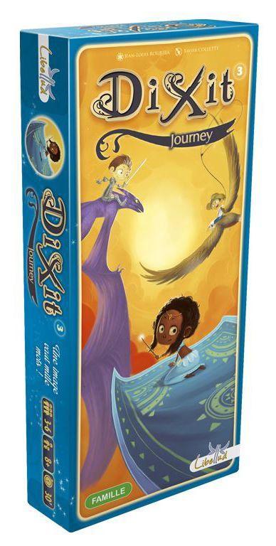 Настольная игра Аsmodee Dixit 3: Journey (дополнение)