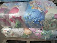 Теплое двуспальное одеяло наполнитель силикон
