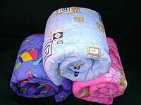 Одеяло полуторное силиконовое - абстракция