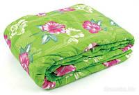 Одеяло полуторное силиконовое Лери Макс зеленое