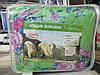 Одеяло полуторное шерстяное Лери Макс зелёное