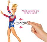 Barbie Барби гимнастка серии You can be GJM72 Gymnastics Twirling Feature, фото 5