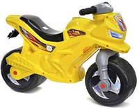 Мотоцикл 2-х колесный, лимонный 501_Л