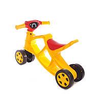 Детский Мотоцикл Беговел Со Звуком Минибайк Четырехколёсный Doloni Toys (0137/03)