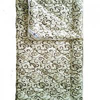 Одеяло двуспальное евро шерстяное Лери Макс вензель (кофе на молоке)