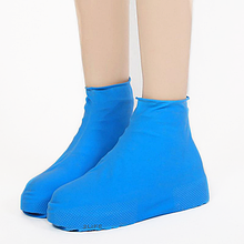 Бахилы для обуви от дождя снега грязи 2Life L многоразовые Голубой (n-467)