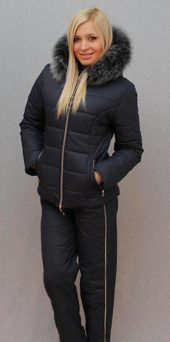 Женский зимний костюм на синтепоне