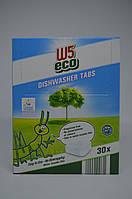 Таблетки для посудомоечных машин W5 ECO 30 шт (без фосфатов)