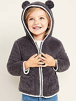 Теплая детская толстовка с капюшоном Oлд Неви для девочки