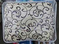Тёплое двуспальное шерстяное одеяло Лери Макс GOLD - вензеля