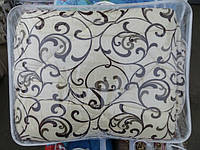 Шерстяное одеяло Евро-размер Лери Макс GOLD вензеля кофе на молоке