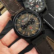 Оригинальные наручные часы Curren 8314 Black-Brown, фото 2