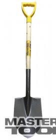 MasterTool  Лопата штыковая с черенком и ручкой 205*280*476мм L-1200мм молотковая покраска, Арт.: 14-6268