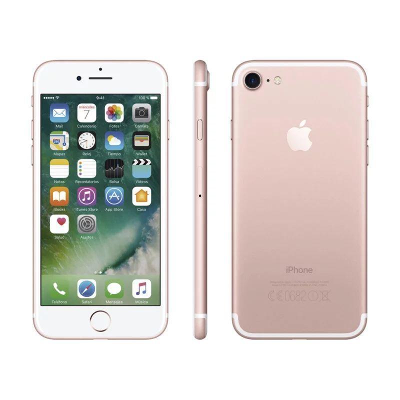 Б/У, Смартфон, Apple, iPhone, 7, 128GB, Rose
