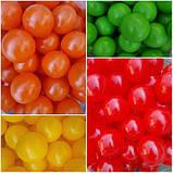 Кульки (м'ячики) кольорові для сухого басейну, фото 3