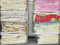 Одеяло полуторное шерстяное Лери Макс - цветы
